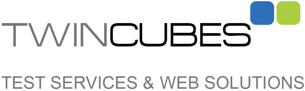 Logo Twin Cubes GmbH - Test Services und Web Solutions